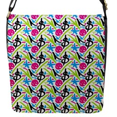 Cool Graffiti Patterns  Flap Messenger Bag (s) by Nexatart
