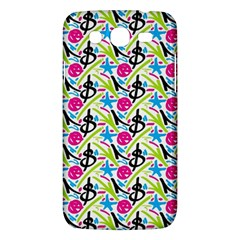 Cool Graffiti Patterns  Samsung Galaxy Mega 5 8 I9152 Hardshell Case  by Nexatart