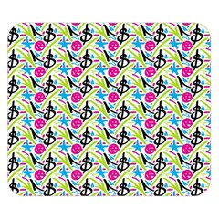 Cool Graffiti Patterns  Double Sided Flano Blanket (small)