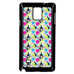 Cool Graffiti Patterns  Samsung Galaxy Note 4 Case (black)