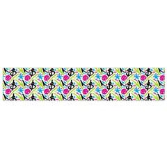 Cool Graffiti Patterns  Flano Scarf (small) by Nexatart