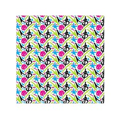 Cool Graffiti Patterns  Small Satin Scarf (square)