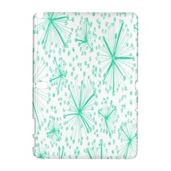 Pattern Floralgreen Galaxy Note 1 by Nexatart