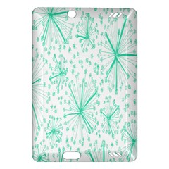 Pattern Floralgreen Amazon Kindle Fire Hd (2013) Hardshell Case
