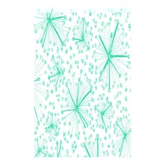 Pattern Floralgreen Shower Curtain 48  X 72  (small)