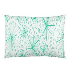 Pattern Floralgreen Pillow Case (two Sides)