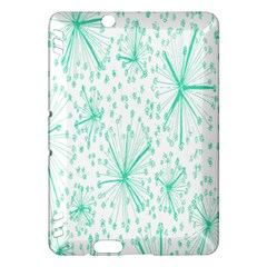 Pattern Floralgreen Kindle Fire Hdx Hardshell Case