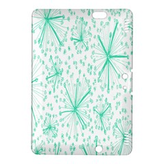Pattern Floralgreen Kindle Fire Hdx 8 9  Hardshell Case