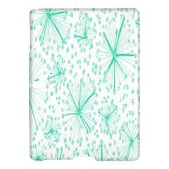 Pattern Floralgreen Samsung Galaxy Tab S (10 5 ) Hardshell Case  by Nexatart