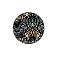 Ethnic Art Pattern Hat Clip Ball Marker (10 Pack)