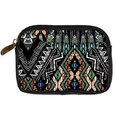Ethnic Art Pattern Digital Camera Cases by Nexatart