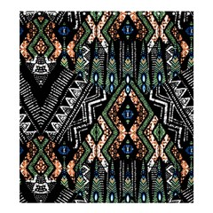 Ethnic Art Pattern Shower Curtain 66  X 72  (large)  by Nexatart