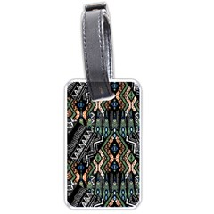 Ethnic Art Pattern Luggage Tags (one Side)
