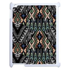 Ethnic Art Pattern Apple Ipad 2 Case (white) by Nexatart