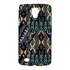 Ethnic Art Pattern Galaxy S4 Active by Nexatart