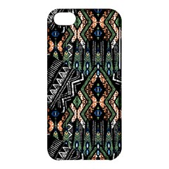 Ethnic Art Pattern Apple Iphone 5c Hardshell Case by Nexatart