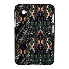 Ethnic Art Pattern Samsung Galaxy Tab 2 (7 ) P3100 Hardshell Case  by Nexatart