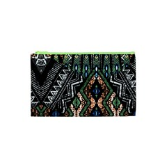 Ethnic Art Pattern Cosmetic Bag (xs)