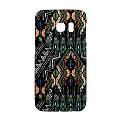 Ethnic Art Pattern Galaxy S6 Edge by Nexatart