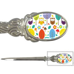 Cute Owl Letter Openers