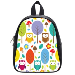 Cute Owl School Bags (small)