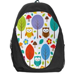 Cute Owl Backpack Bag