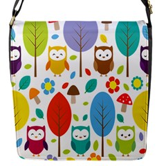 Cute Owl Flap Messenger Bag (s)