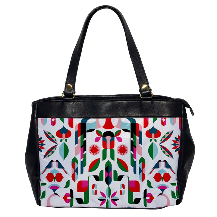 Abstract Peacock Office Handbags