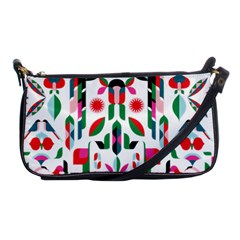 Abstract Peacock Shoulder Clutch Bags by Nexatart