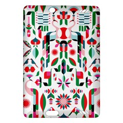 Abstract Peacock Amazon Kindle Fire Hd (2013) Hardshell Case
