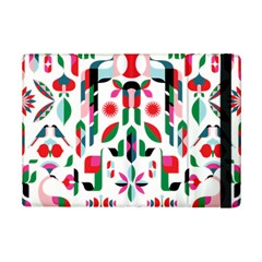 Abstract Peacock Ipad Mini 2 Flip Cases