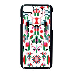 Abstract Peacock Apple Iphone 7 Seamless Case (black) by Nexatart