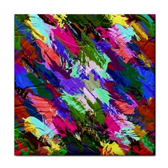 Tropical Jungle Print And Color Trends Tile Coasters by Nexatart