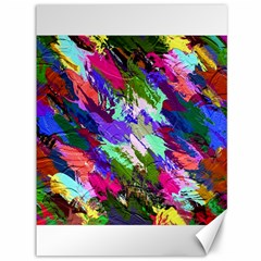 Tropical Jungle Print And Color Trends Canvas 36  X 48