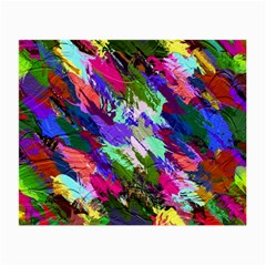 Tropical Jungle Print And Color Trends Small Glasses Cloth (2 Side) by Nexatart
