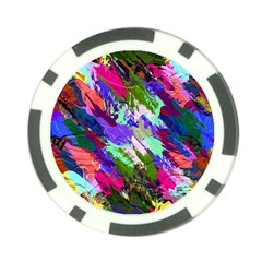 Tropical Jungle Print And Color Trends Poker Chip Card Guard
