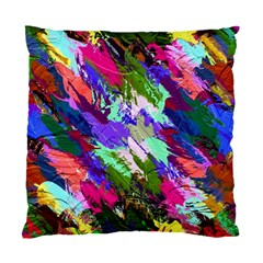 Tropical Jungle Print And Color Trends Standard Cushion Case (one Side)