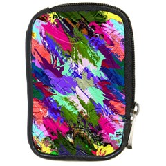 Tropical Jungle Print And Color Trends Compact Camera Cases by Nexatart