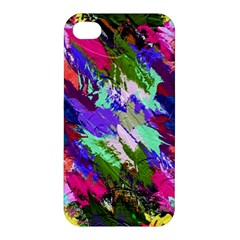Tropical Jungle Print And Color Trends Apple Iphone 4/4s Hardshell Case by Nexatart