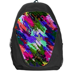 Tropical Jungle Print And Color Trends Backpack Bag