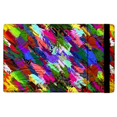 Tropical Jungle Print And Color Trends Apple Ipad 2 Flip Case by Nexatart