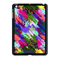 Tropical Jungle Print And Color Trends Apple Ipad Mini Case (black) by Nexatart