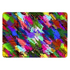 Tropical Jungle Print And Color Trends Samsung Galaxy Tab 8.9  P7300 Flip Case by Nexatart