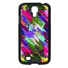 Tropical Jungle Print And Color Trends Samsung Galaxy S4 I9500/ I9505 Case (black) by Nexatart