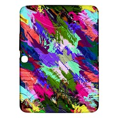 Tropical Jungle Print And Color Trends Samsung Galaxy Tab 3 (10 1 ) P5200 Hardshell Case  by Nexatart