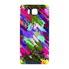Tropical Jungle Print And Color Trends Samsung Galaxy Alpha Hardshell Back Case by Nexatart