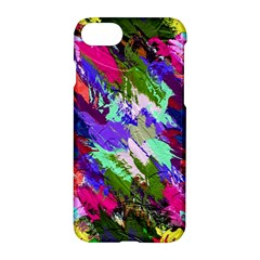 Tropical Jungle Print And Color Trends Apple Iphone 7 Hardshell Case by Nexatart