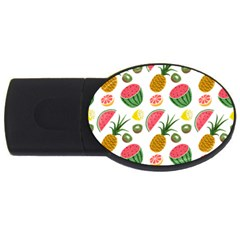 Fruits Pattern Usb Flash Drive Oval (2 Gb)