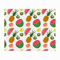 Fruits Pattern Small Glasses Cloth by Nexatart