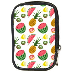 Fruits Pattern Compact Camera Cases by Nexatart